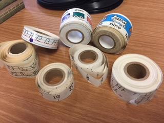 Desk tape