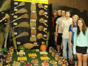 USD 109 Wins First Place at the Kansas State Fair for their THIRD consecutive year.