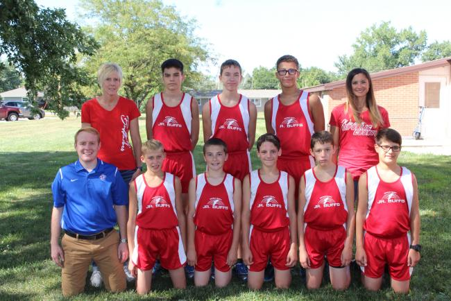 Pic of the JH XC team.