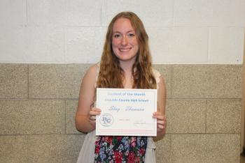 Shay Student of Month