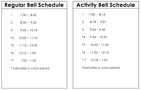 Mrs. Gieber's Daily Schedule