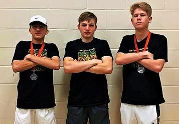 Varsity Boys at Tournament