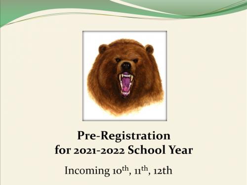 20-21 Pre-Registration Slide Show