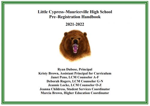 21-22 Pre-Registration Handbook