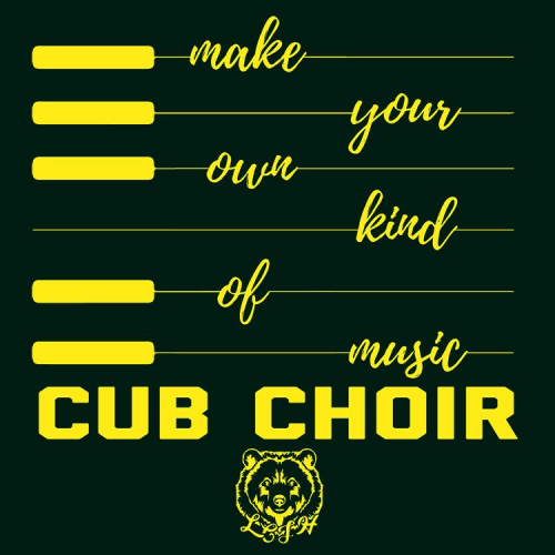 Cub Choir Keyboard shirt