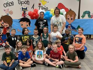 """Jeannie Istre author of """"Pootin Paul"""" visits LCE"""