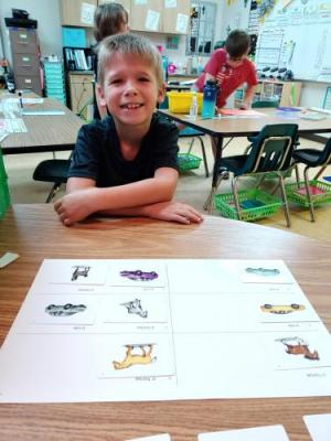 Reading with second grade.