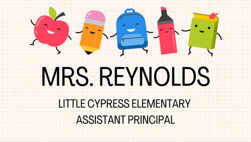 Mrs. Reynolds title