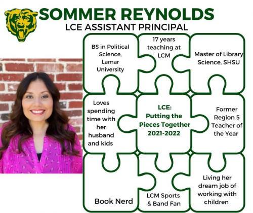 Mrs. Reynolds Bio