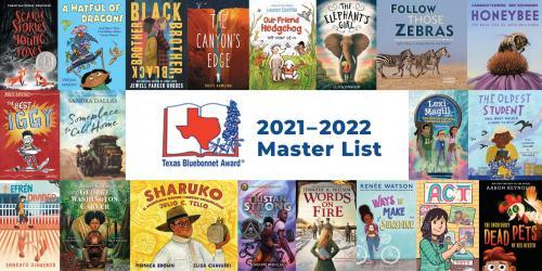 2021-2022 Bluebonnet Books Graphic
