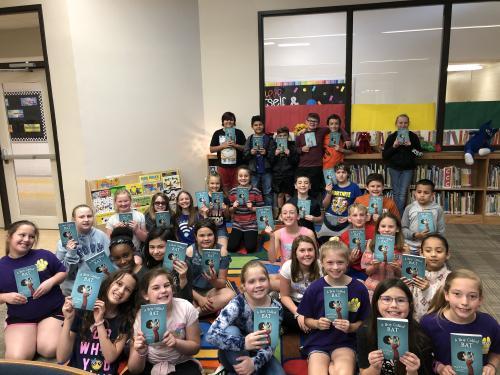 4th Grade Book Club Picture