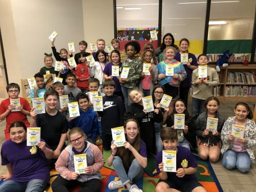 5th Grade Book Club Picture