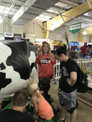 Volunteering at the State Fair