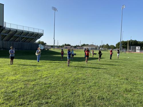 Douglass Bulldogs Band Camp 2020