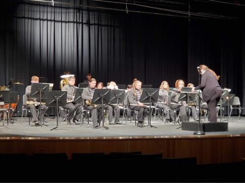SMS/DHS 2021 Spring Concert, High School Band