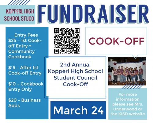 Cook-Off Flyer