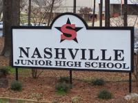 Landscape View facing Nashville Junior High School