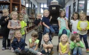 Headstart was hesitant at first but then warmed up to Smokey the Bear