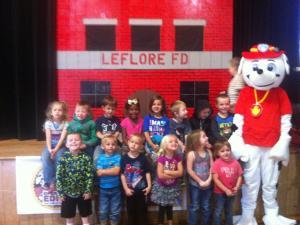 LeFlore FD puppet show