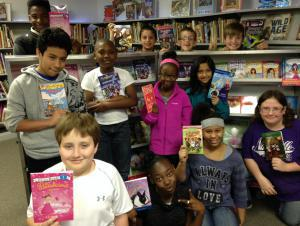 2015 Scholastic Book Fair - Look at all the books we found!