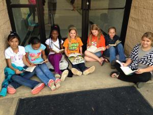 6th Grade Book Club Meeting 2015-2016