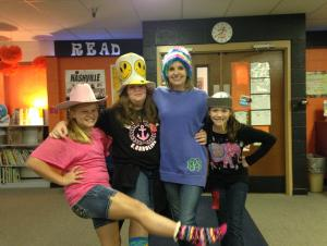 Crazy hat and sock day 2015-2016