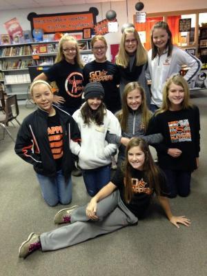 Library Girls 2015-2016