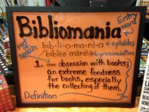 Do you have bibliomania?
