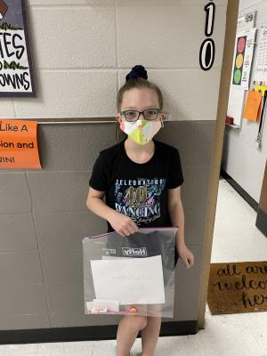 August Student of the Month-4th Period: Julia Tedford