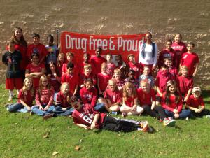 Wear Red Day ~ Drug Free Week!