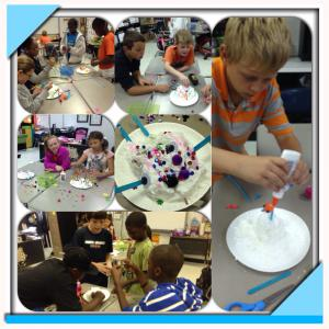 Making soap monsters after heating Ivory soap!