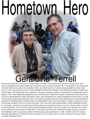 Geraldine Terrell