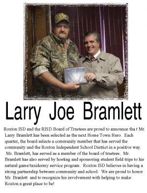 Larry Joe Bramlett