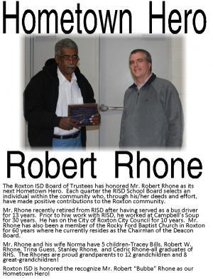 Robert Rhone