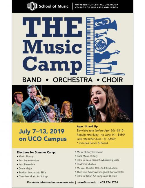 UCO Music Camp