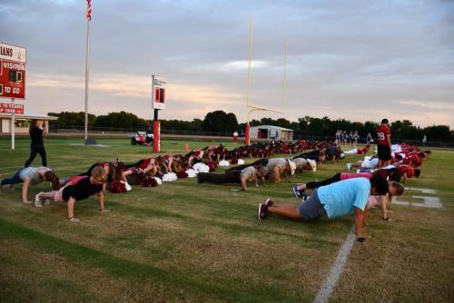 THS Cheerleaders