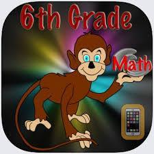 6th Grade Middle School Math app