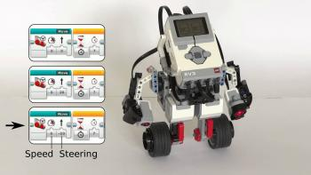 EV3 with programming sample