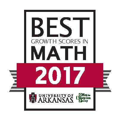 Best Growth Scores in Math 2017