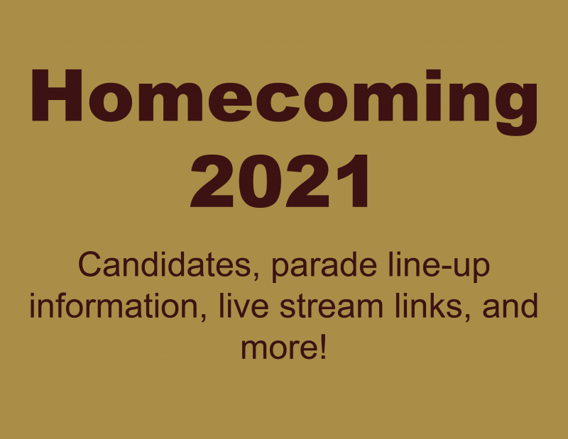 Homecoming 2021 Information