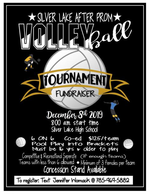 2019 Volleyball tournament to benefit after prom