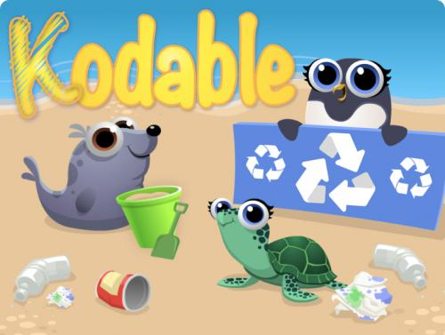 Kodable Beach Clean up