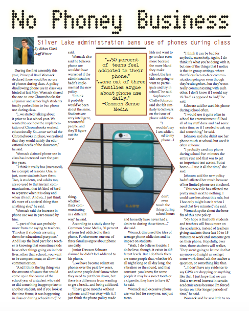 Phone article