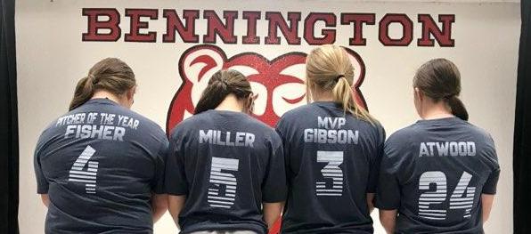All Conference Players: Emily, Cheyenne, Alexus, & Mackenzie
