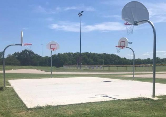 New basketball goals