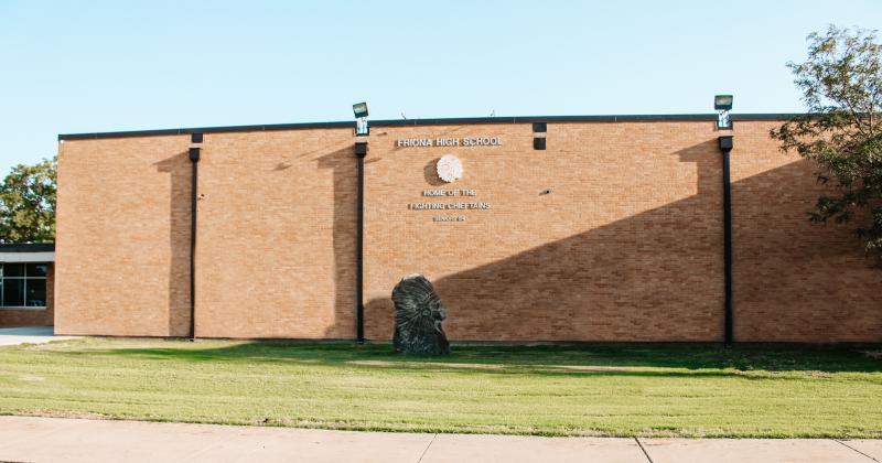 Landscape View facing Friona High School