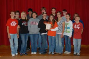 2008-2009 Middle School Academic Team: District Champion; Regional Runner-up