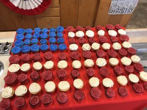 Culinary Arts class prepares Veteran's Day Reception cupcakes