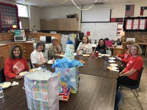 Baby Shower for Mrs. Olivas hosted by FCCLA