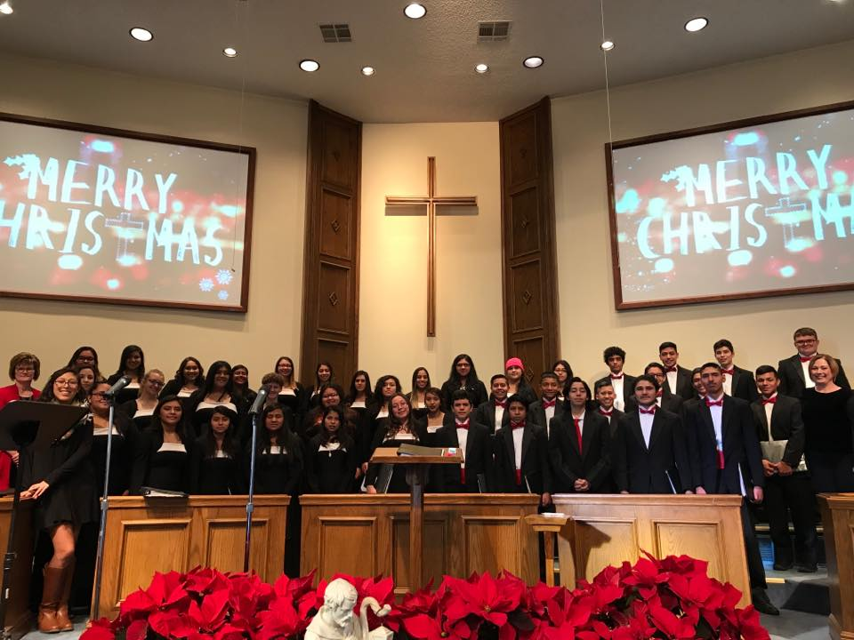 Junior Varsity and Varsity Choirs-Christmas 2018
